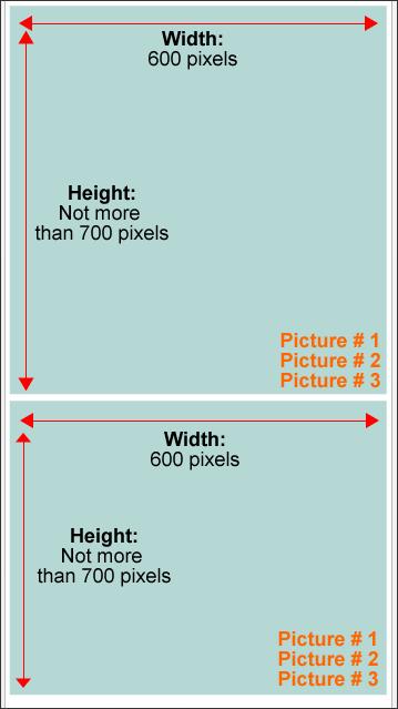 image 1,2 n 3 layout